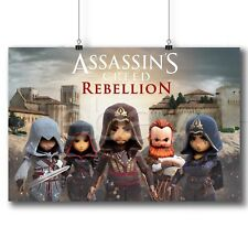 Assassin's Creed Rebellion Custom Poster Print Art Wall Decor 19x12 Inch