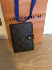100%Authentic Louis Vuitton Diary Cover Agenda PM  Browns Monogram Made In Spain