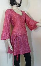 Unbranded Viscose V Neck Floral Tops & Shirts for Women