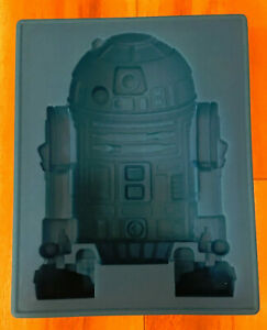 Lucas Films R2D2 Silicone Blue Mold 2012 Jello Pudding Ice Cube