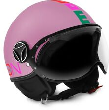 JET HELMET MOMO DESIGN FIGHTER BABY MATT PINK - MULTI SIZE JXS