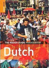DUTCH PHRASE BOOK - THE ROUGH GUIDE PHRASEBOOK - EXCELLENT USED PAPERBACK