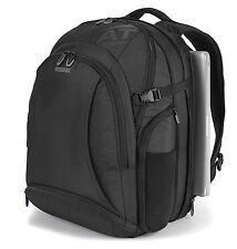 "American Tourister Voyager Deluxe 17"" Laptop / MacBook Pro Black Backpack - New"