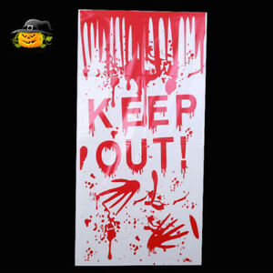 Halloween Ghost Hand Wall Sticker Wallpaper Scary Wall Decal Window Decoration