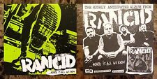 Rancid Honor Is All We Know Ltd Ed Rare Sticker+Free Punk Stickers Trouble Maker