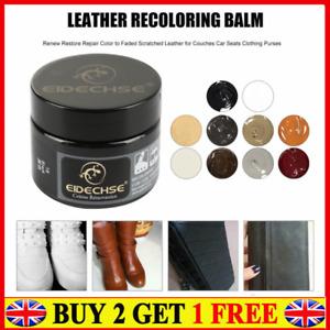 Leather Repair Filler Cream Kit Restore Car Sofa Seat Scratch Scuffs Hole Rip ##
