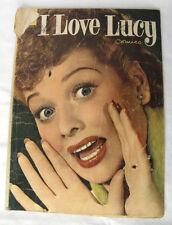 1954 I Love Lucy #3 Lucille Ball Desi Arnez Dell Golden Age Comic Book VTG