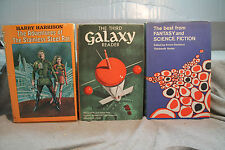 lot vtg old Sci-Fi THE ADVENTURES OF THE STAINLESS STEEL RAT THIRD GALAXY READER
