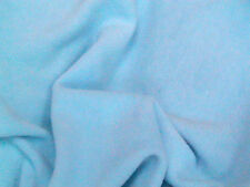 Anti-Pil Polar Fleece Dress FabricLight Blue 150cm Wide SOLD BY THE METRE