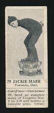 1924 V31 Dominion Chocolate ATHLETES #79 Jackie Marr (Speed Skating)