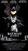New Batman Returns VHS 1992 Tim Burton Gotham City Michael Keaton Danny Devito