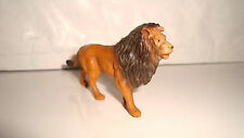 ANCIENNE FIGURINE JIM LION SAVANE CIRQUE CIRCUS (4x7cm)