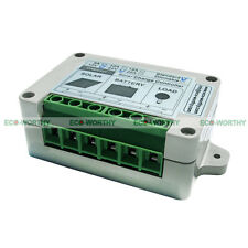 5A solar charge controller PV solar system accessory w/ time and light sensor