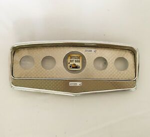 Classic Auburn Style Dash Panel - Alum / Engine Turned S/S- 1932 Roadster
