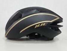 HJC Ibex Aerodynamic Ventilation Road Bike Helmet - Mt Black Gold Size M 55-59cm