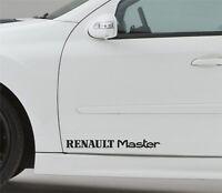 2x Door Sticker Fits Renault Master Side Premium Qaulity Decals Graphics CF80