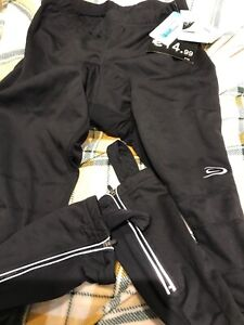 New with tags Mens Cycling Tights Winter Padded Pants Cycle Long Trouser large