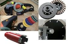 5 Inch Wet Polisher Diamond Polishing Pad Hole Saw Blade cup granite concrete