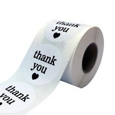 Hot 500 Thank You Stickers DIY Craft Seals Round 1inch Lables Party Favour