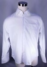 NORDSTROM Tailored Fit White Dress Shirt French Cuffs Size 16 33