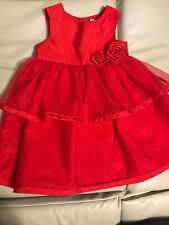 Carters 18 Month Toddler Girl Red Dress