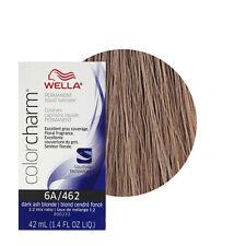 Wella Color charm 6A Dark Ash Blonde Professional Permanent Hair colour Dye