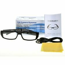 720P Discreet HD Spy Glasses Digital Video Recorder