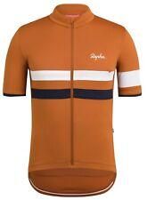 Rapha Brevet Lightweight Jersey Burnt Orange Size Large