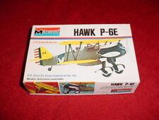 P-6E HAWK  AIRCRAFT MODEL US ARMY AIR CORP AIRPLANE BI-PLANE NEW