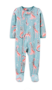 Carters Toddler Girls Giraffes & Koala Blanket Sleeper Pajamas 12 18 M 2 3 4 5T