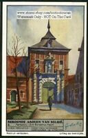 Parkabdij  Belgium Abbey Church Architecture History 1930s Trade Ad Card