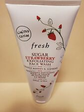Fresh Sugar Strawberry Exfoliating Face Wash Value Size Ltd. Ed. 6.7 Oz New