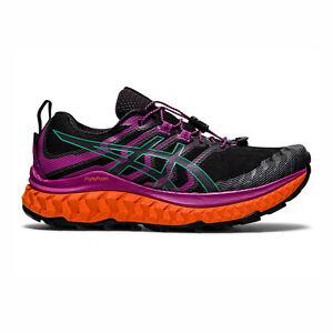 Asics Trabuco Max [1012A901-002] Women Trail Running Shoes Black/Digital Grape