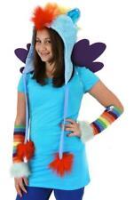 Rainbow Dash Hoodie My Little Pony Fancy Dress Up Halloween Costume Accessory