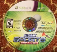 Kinect Sports: Season Two (Microsoft Xbox 360, 2011) DISC ONLY 11285