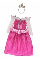 George Disney Princess Sleeping Beauty Fancy Dress Costume Outfit