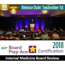 Acp : Internal Medicine Board Review Video Lectures 2018 (New!)