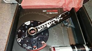 Rotor 3D+ MAS XC2 cranks - 175mm - 110/74 MAS BCD - Brand New.