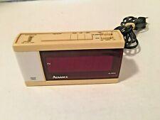 Vintage Advance Digital Alarm Clock with Night Light