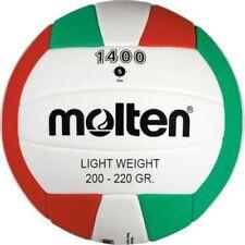 Molten trainingsvolleyball  1400 light rot/grün/weiß Größe 5