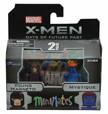 Marvel Minimates Series 58 X-Men Young Magneto & Mystique 2pk - New in hand