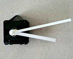 WHITE Quartz Silent Clock Mechanism