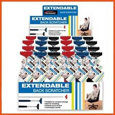 24 x EXTENDABLE BACK SCRATCHER 51 cm Rake Shape Foldable Cushion Grip Handle
