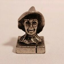 The Wizard of Oz Monopoly Replacement Game Piece SCARECROW Pewter Token