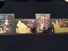 MICHAEL JORDAN 1995-96 COLLECTOR'S CHOICE JORDAN COLLECTION 4 CARD INSERT LOT