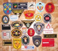 LOTE DE PARCHES BOMBEROS DE ESPAÑA spain fire patches lot