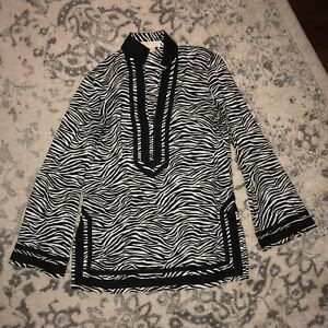 Michael Kors Zebra Tunic Medium
