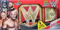 WWE Universal Championship Toy Title Belt Gold Motion-Activated FFD49 - NEW