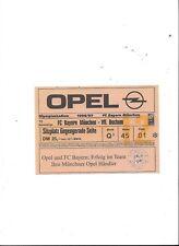FC BAYERN MÜNCHEN - VFL BOCHUM 21.08.1996, Sammler Ticket Saison 96/97, not used