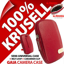 New Krusell Gaia Universal Compact Digital Camera Case Bag for Sony Samsung Fuji